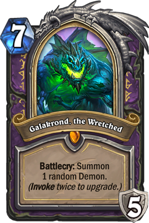 Galakrond, the Wretched Card