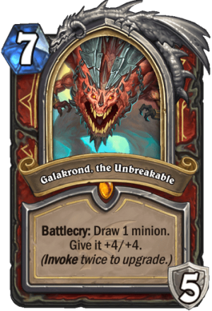 Galakrond, the Unbreakable Card