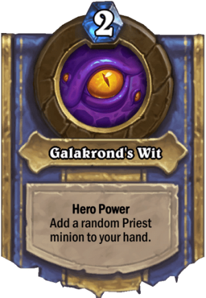 Galakrond's Wit Card