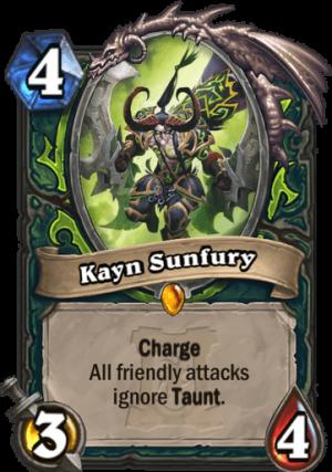 Kayn Sunfury Card