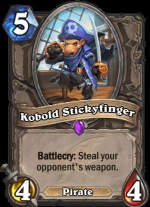 Kobold Stickyfinger Card