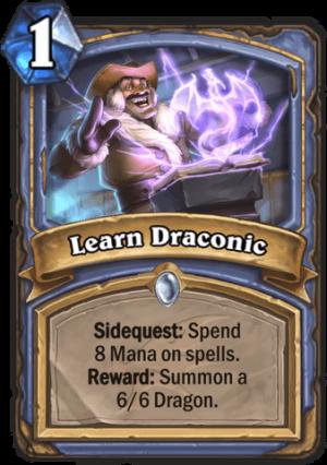 Learn Draconic Card