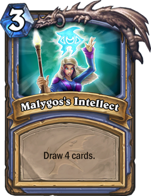 Malygos's Intellect Card
