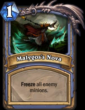 Malygos's Nova Card