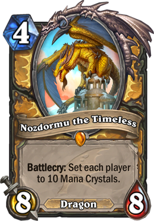 Nozdormu the Timeless Card