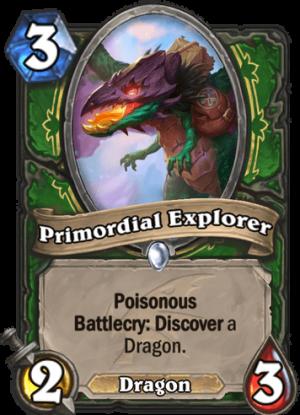 Primordial Explorer Card