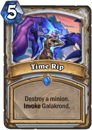Time Rip Card