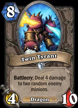 Twin Tyrant Card
