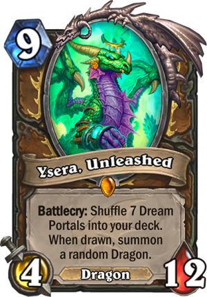 Ysera, Unleashed Card
