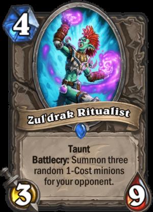 Zul'drak Ritualist Card