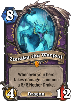 Zzeraku the Warped Card