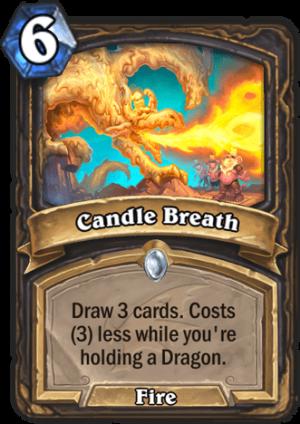 Candle Breath Card