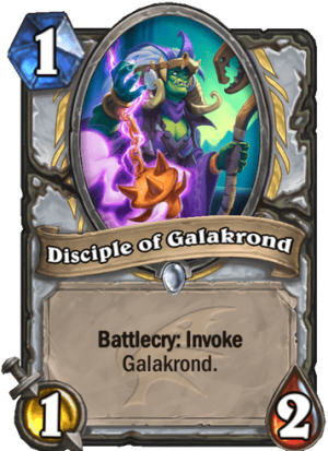 Disciple of Galakrond Card