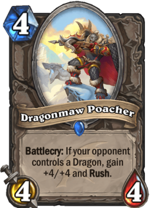 Dragonmaw Poacher Card