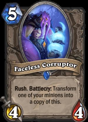 Faceless Corruptor Card