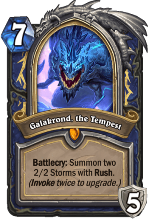 Galakrond, the Tempest Card