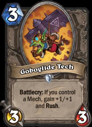 Goboglide Tech Card