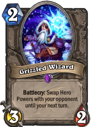 Grizzled Wizard Card