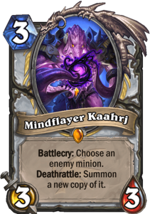 Mindflayer Kaahrj Card