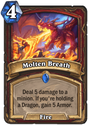 Molten Breath Card