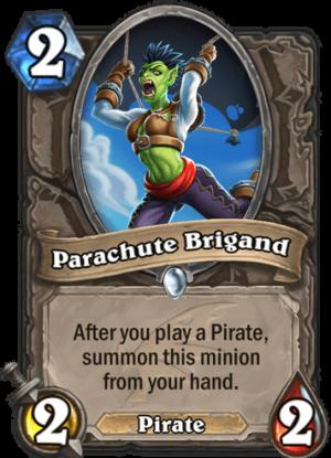 Parachute Brigand Card