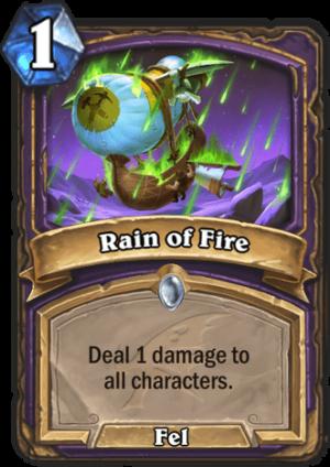 Rain of Fire Card