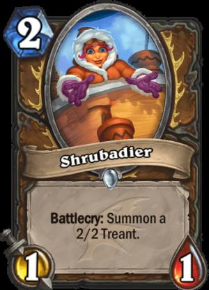Shrubadier Card