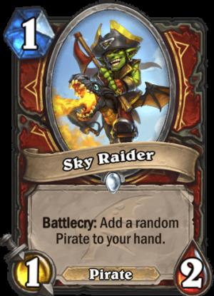 Sky Raider Card