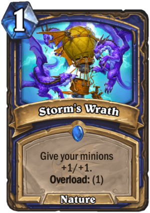 Storm's Wrath Card