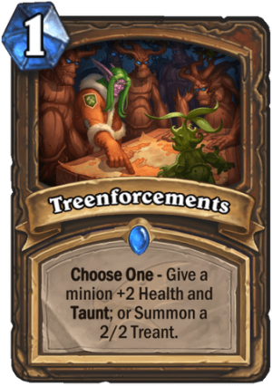 Treenforcements Card