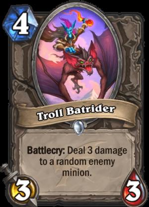 Troll Batrider Card