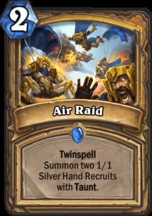 Air Raid Card