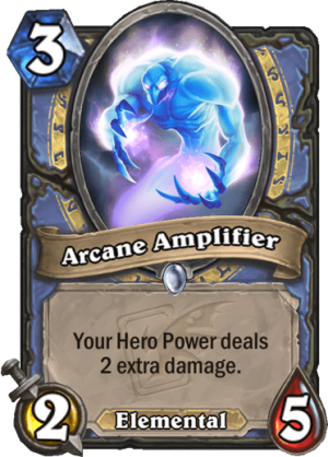 Arcane Amplifier Card
