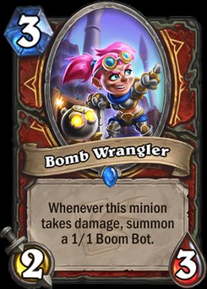 Bomb Wrangler Card