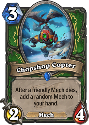 Chopshop Copter Card