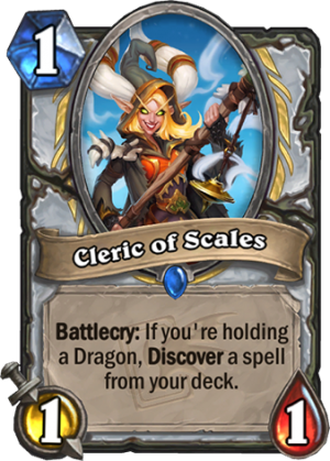 Cleric of Scales Card