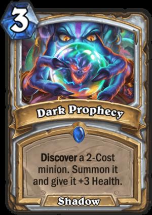 Dark Prophecy Card