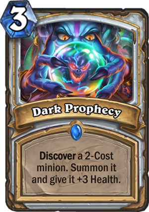 Dark Prophecy Card