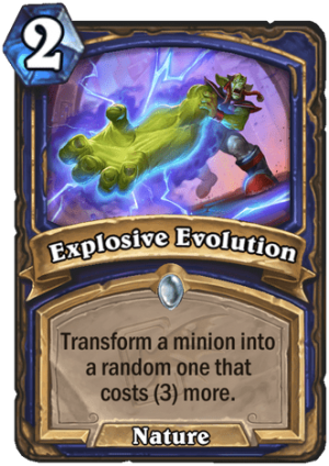 Explosive Evolution Card