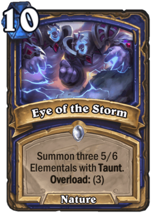 Eye of the Storm Card