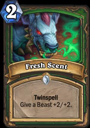 Fresh Scent Card