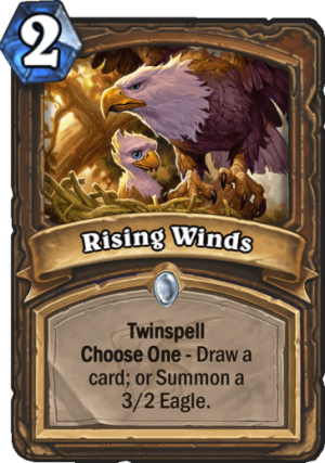 Rising Winds Card