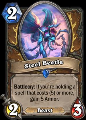 Steel Beetle Card