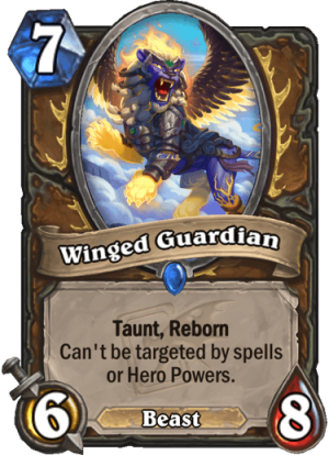 Winged Guardian Card