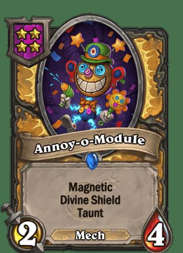 Annoy-o-Module Card!