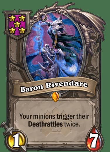Baron Rivendare Card!