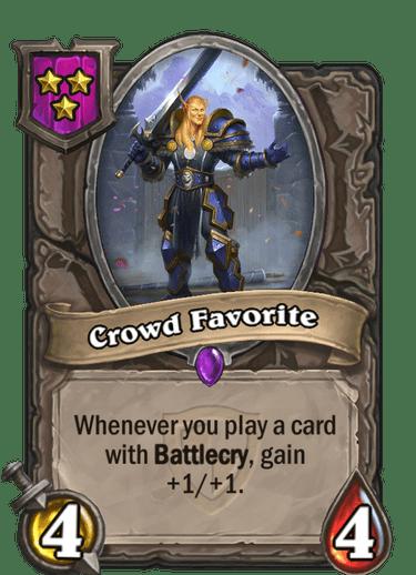 Crowd Favorite Card!