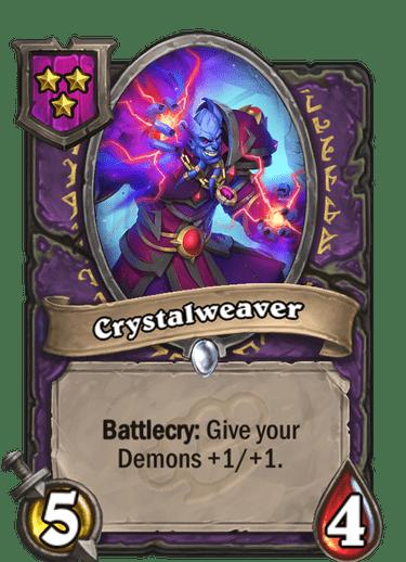 Crystalweaver Card!