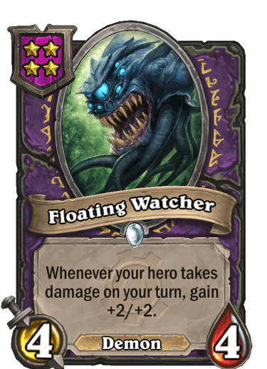 Floating Watcher Card!