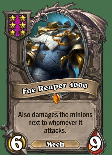 Foe Reaper 4000 Card!